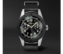 Summit 46mm Two-tone Pvd-coated Stainless Steel And Rubber Smart Watch