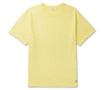 Callac Slim-fit Cotton-jersey T-shirt - Yellow