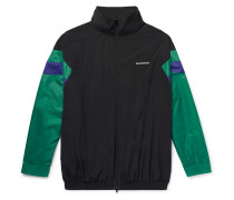 Colour-block Shell Track Jacket