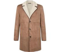 Wollaston Shearling Coat - Brown