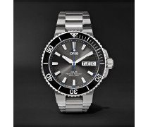 Aquis Hammerhead Limited Edition Automatic 45.5mm Stainless Steel Watch