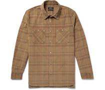Tundra Checked Cotton-Corduroy Shirt