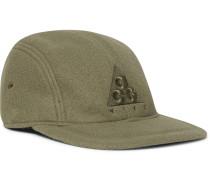 ACG NRG AW84 Logo-Appliquéd Fleece Baseball Cap