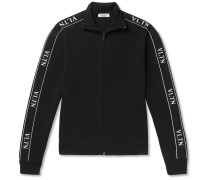 Logo-trimmed Tech-jersey Track Jacket