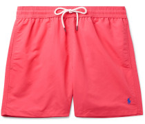 Traveller Mid-length Swim Shorts - Pink