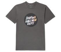 Printed Organic Cotton-Jersey T-Shirt