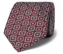+ Turnbull & Asser Rocketman Silk-Jacquard Tie