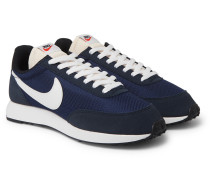 Air Tailwind 79 Mesh, Suede And Leather Sneakers - Navy