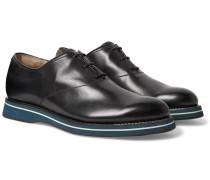 Alessio Padova Venezia Leather Oxford Shoes - Midnight blue