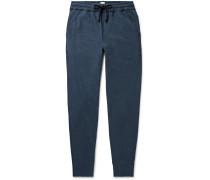 Hugo Slim-Fit Tapered Mélange Cotton-Jersey Sweatpants