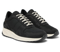 Track Vintage Nubuck And Mesh Sneakers