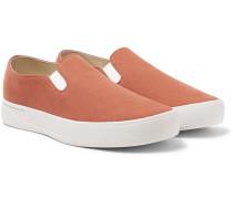 Vass Twill Slip-on Sneakers