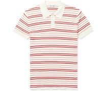 Riker Slim-Fit Striped Cotton Polo Shirt