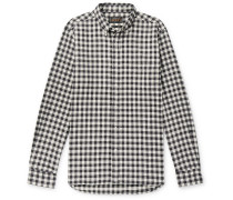 Gingham Cotton-flannel Shirt