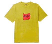 Design Printed Cotton-jersey T-shirt - Green