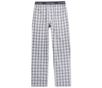 Checked Woven Pyjama Trousers
