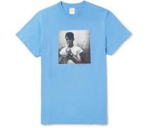 + Chet Baker Slim-fit Printed Cotton-jersey T-shirt