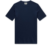 Miverton Slim-Fit Ribbed Recycled Cotton-Blend T-Shirt