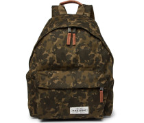 Padded Pak'r Camouflage-print Canvas Backpack
