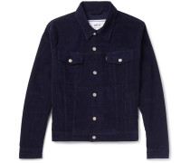 Garment-dyed Stretch-cotton Corduroy Jacket