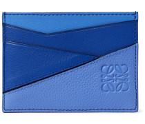 Puzzle Full-Grain Leather Cardholder