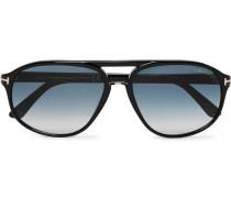 Jacob Aviator-style Acetate Sunglasses