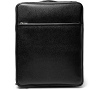 Pebble-grain Leather Carry-on Case