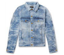 Distressed Selvedge Denim Jacket