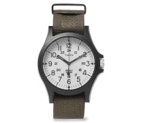 Acadia Resin And Grosgrain Watch - White