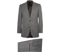 Grey Weighouse Slim-Fit Wool Suit