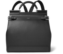 Sicily Pebble-grain Leather Backpack