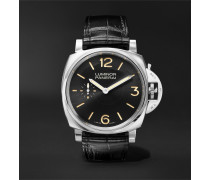 Luminor 1950 3 Days Acciaio 42mm Stainless Steel And Alligator Watch