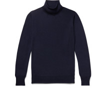 Slim-Fit Cashmere Rollneck Sweater