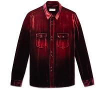 Devoré-Velvet Shirt