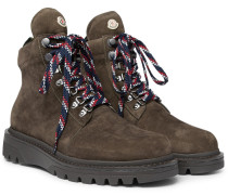 Isaac Nubuck Hiking Boots - Green