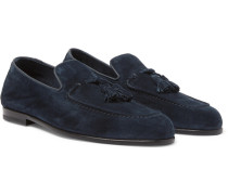 Adrian Suede Tasselled Loafers