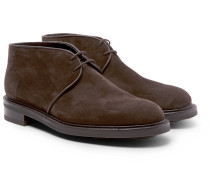 Grove Suede Chukka Boots - Brown