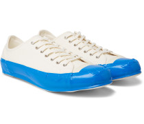 Taped Cotton-Canvas Sneakers