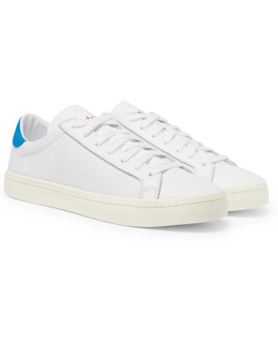 adidas Herren Court Vantage Leather And Canvas Sneakers Heißen Verkauf Zum Verkauf r0RW1FM