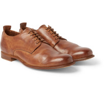Mono Leather Derby Shoes