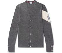 Virgin Wool Cardigan - Gray