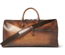 Jour-off Gm Leather Holdall - Tan