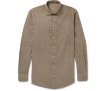 Canary Striped Cotton Shirt