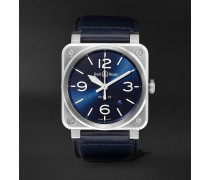 BR03-92 Automatic 42mm Ceramic and Rubber Watch