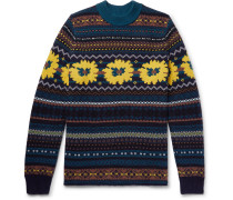 Fair Isle Wool-jacquard Sweater