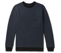 Slub Loopback Cotton-Jersey Sweatshirt