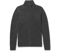 Nathan Wool And Cashmere-blend Zip-up Cardigan