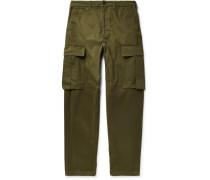 Cotton-twill Cargo Trousers