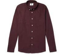 Sixten Button-down Collar Cotton-flannel Shirt
