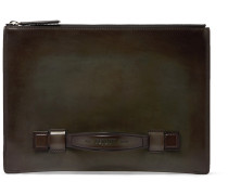 Handle Leather Pouch